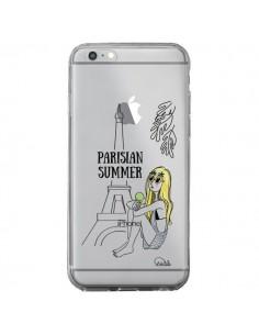 Coque iPhone 6 Plus et 6S Plus Parisian Summer Ete Parisien Transparente - Lolo Santo