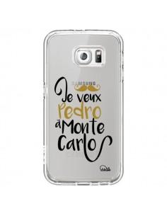 Coque Je veux Pedro à Monte Carlo Transparente pour Samsung Galaxy S7 - Lolo Santo
