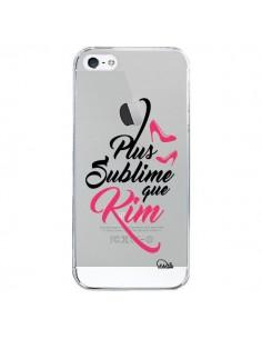 Coque Plus sublime que Kim Transparente pour iPhone 5/5S et SE - Lolo Santo