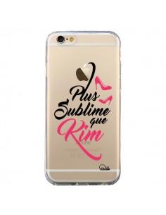 Coque iPhone 6 et 6S Plus sublime que Kim Transparente - Lolo Santo