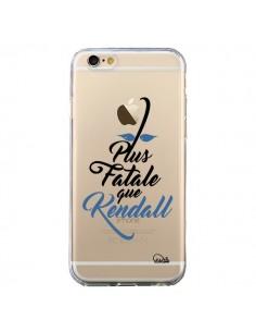 Coque iPhone 6 et 6S Plus Fatale que Kendall Transparente - Lolo Santo
