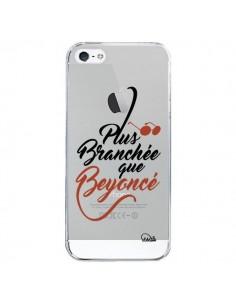 Coque Plus Branchée que Beyoncé Transparente pour iPhone 5/5S et SE - Lolo Santo