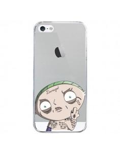 Coque iPhone 5/5S et SE Stewie Joker Suicide Squad Transparente - Mikadololo