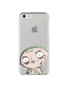 Coque iPhone 5C Stewie Joker Suicide Squad Transparente - Mikadololo