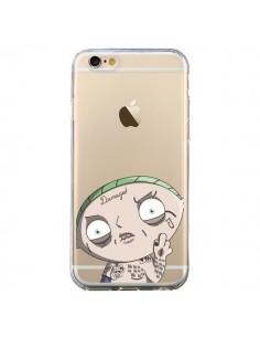 Coque iPhone 6 et 6S Stewie Joker Suicide Squad Transparente - Mikadololo