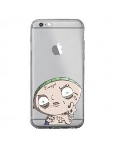 Coque iPhone 6 Plus et 6S Plus Stewie Joker Suicide Squad Transparente - Mikadololo