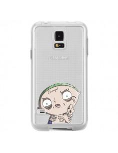 Coque Stewie Joker Suicide Squad Transparente pour Samsung Galaxy S5 - Mikadololo
