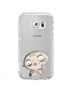 Coque Stewie Joker Suicide Squad Transparente pour Samsung Galaxy S6 - Mikadololo