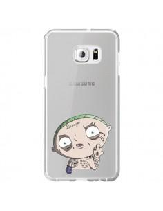 Coque Stewie Joker Suicide Squad Transparente pour Samsung Galaxy S6 Edge Plus - Mikadololo