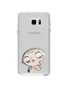 Coque Stewie Joker Suicide Squad Transparente pour Samsung Galaxy Note 5 - Mikadololo