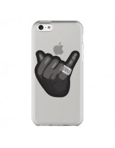 Coque OVO Ring bague Transparente pour iPhone 5C - Mikadololo