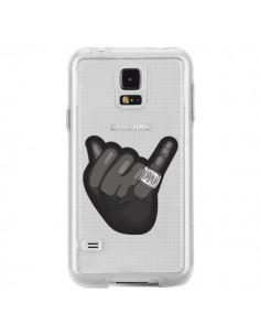 Coque OVO Ring bague Transparente pour Samsung Galaxy S5 - Mikadololo