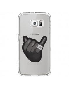 Coque OVO Ring bague Transparente pour Samsung Galaxy S6 - Mikadololo