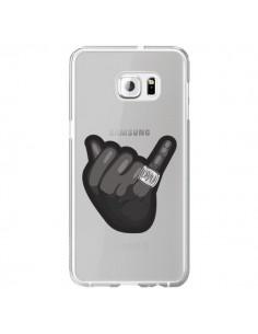 Coque OVO Ring bague Transparente pour Samsung Galaxy S6 Edge Plus - Mikadololo