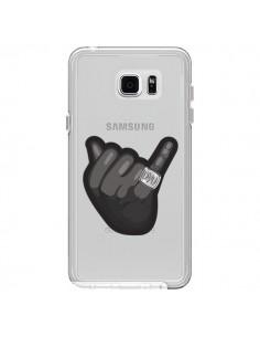 Coque OVO Ring bague Transparente pour Samsung Galaxy Note 5 - Mikadololo