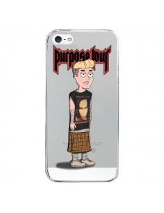 Coque Bieber Marilyn Manson Fan Transparente pour iPhone 5/5S et SE - Mikadololo