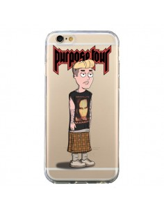Coque Bieber Marilyn Manson Fan Transparente pour iPhone 6 et 6S - Mikadololo