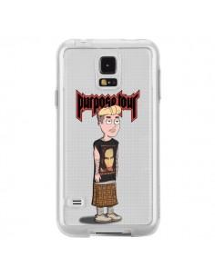 Coque Bieber Marilyn Manson Fan Transparente pour Samsung Galaxy S5 - Mikadololo