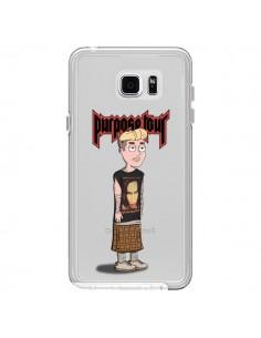 Coque Bieber Marilyn Manson Fan Transparente pour Samsung Galaxy Note 5 - Mikadololo