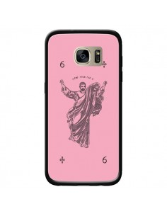 Coque God Pink Drake Chanteur Jeu Cartes pour Samsung Galaxy S7 Edge - Mikadololo
