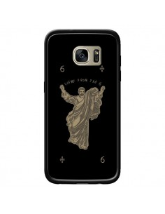 Coque God Black Drake Chanteur Jeu Cartes pour Samsung Galaxy S7 Edge - Mikadololo