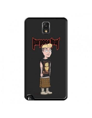 Coque Bieber Purpose Tour Manson pour Samsung Galaxy Note III - Mikadololo