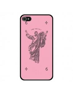 Coque God Pink Drake Chanteur Jeu Cartes pour iPhone 4 et 4S - Mikadololo