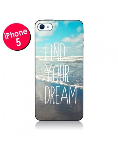 Coque Find your Dream pour iPhone 5 - Sylvia Cook