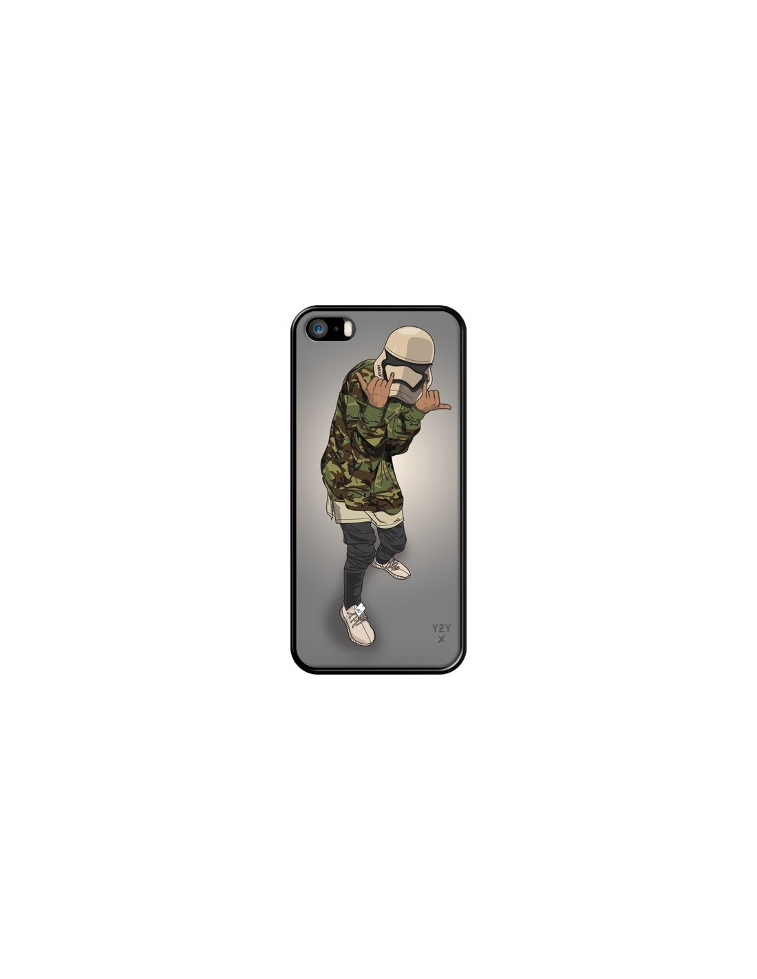 coque army trooper swag soldat armee yeezy pour iphone 5. Black Bedroom Furniture Sets. Home Design Ideas