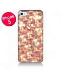 Coque Glitter and Shine Paillettes pour iPhone 5 - Sylvia Cook