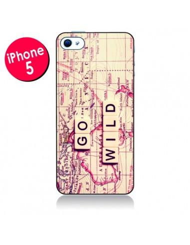 Coque Go Wild pour iPhone 5 - Sylvia Cook