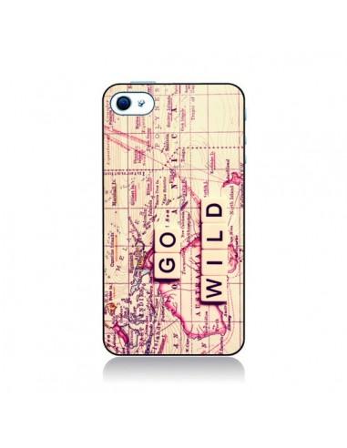 Coque Go Wild pour iPhone 4 et 4S - Sylvia Cook