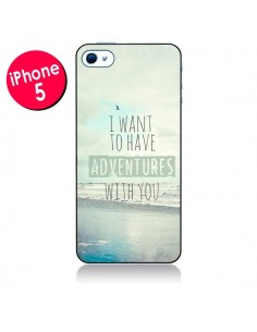 Coque I want to have adventures with you pour iPhone 5/5S et SE - Sylvia Cook