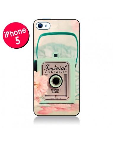 Coque Appareil Photo Imperial Vintage pour iPhone 5 - Sylvia Cook