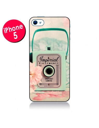 Coque Appareil Photo Imperial Vintage pour iPhone 5 - Sylvia Cook