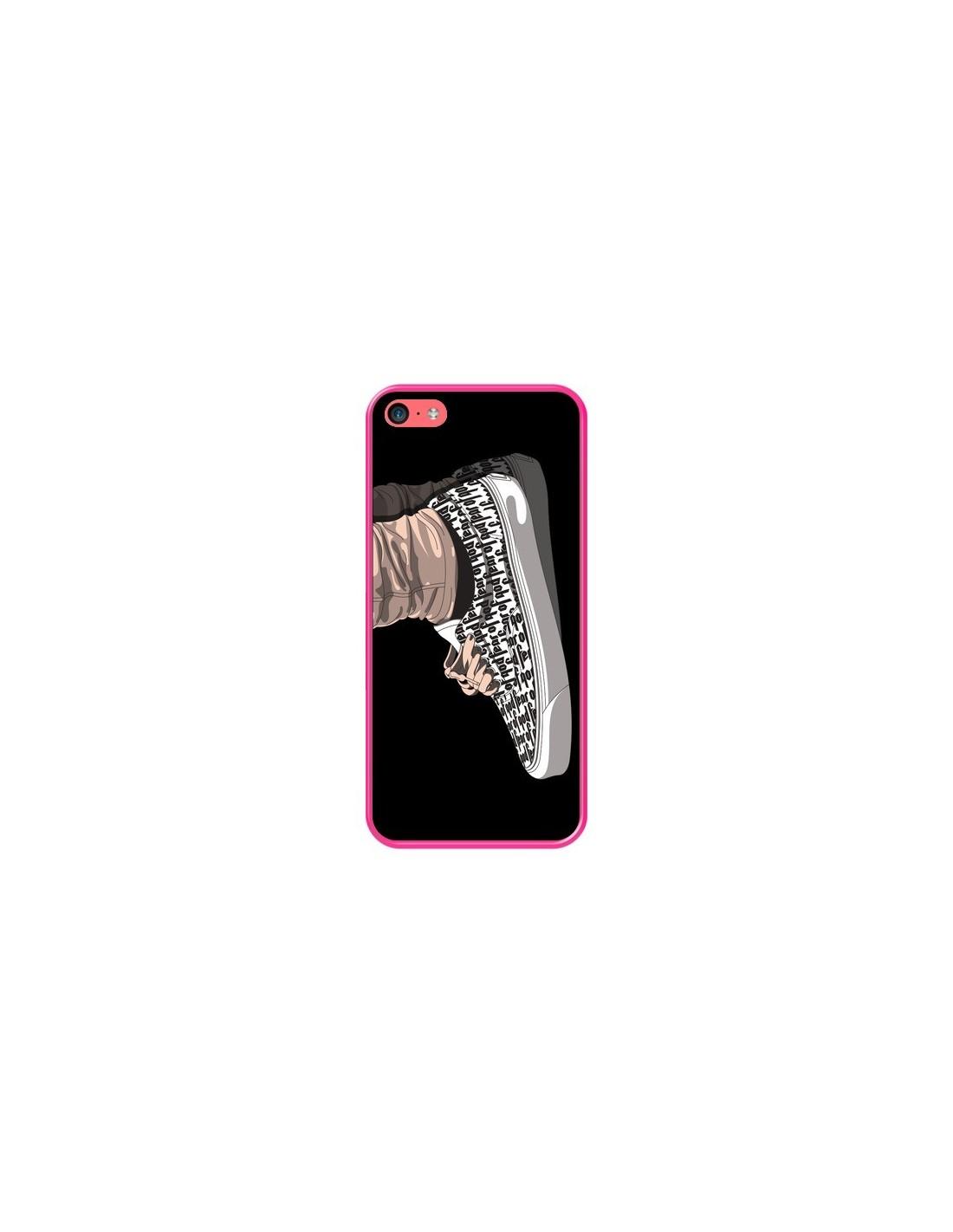 Coque iPhone 5C Vans Noir - Mikadololo