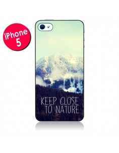 Coque Keep close to nature pour iPhone 5 - Sylvia Cook