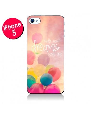 Coque Make your dreams come true pour iPhone 5 - Sylvia Cook