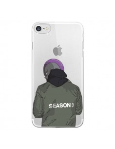 Coque iPhone 7 et 8 Freezer Dragon Ball Z Transparente - Mikadololo