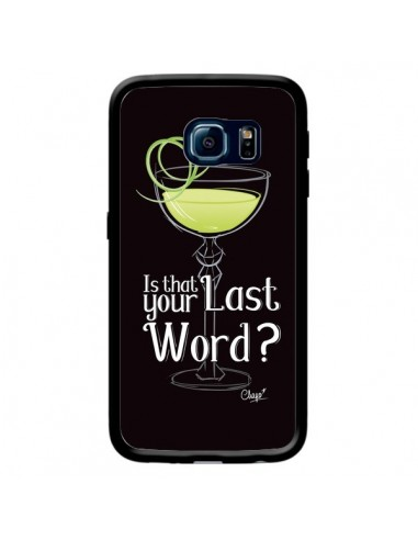 Coque Is that your Last Word Cocktail Barman pour Samsung Galaxy S6 Edge - Chapo