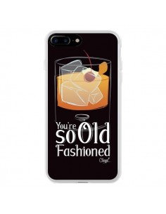 Coque iPhone 7 Plus et 8 Plus You're so old fashioned Cocktail Barman - Chapo
