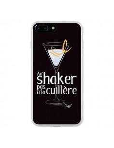 Coque iPhone 7 Plus et 8 Plus Au shaker pas à la cuillère Cocktail Barman - Chapo