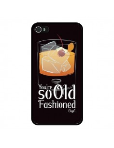Coque iPhone 4 et 4S You're so old fashioned Cocktail Barman - Chapo