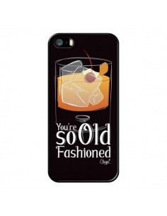Coque iPhone 5/5S et SE You're so old fashioned Cocktail Barman - Chapo