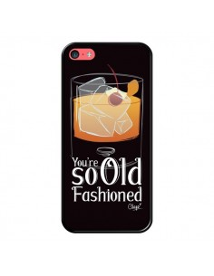 Coque iPhone 5C You're so old fashioned Cocktail Barman - Chapo