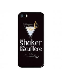 Coque iPhone 5/5S et SE Au shaker pas à la cuillère Cocktail Barman - Chapo