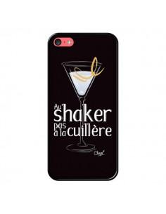 Coque iPhone 5C Au shaker pas à la cuillère Cocktail Barman - Chapo
