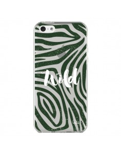 Coque iPhone 5C Wild Zebre Jungle Transparente - Lolo Santo
