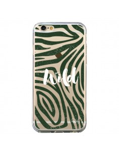 Coque iPhone 6 et 6S Wild Zebre Jungle Transparente - Lolo Santo