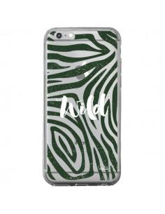 Coque iPhone 6 Plus et 6S Plus Wild Zebre Jungle Transparente - Lolo Santo